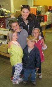 Lauren & kids