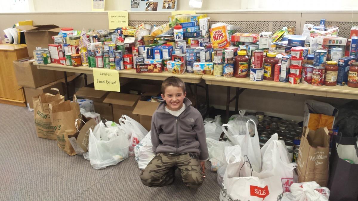 2015 Samuel's Challenge Lenten Food Drive