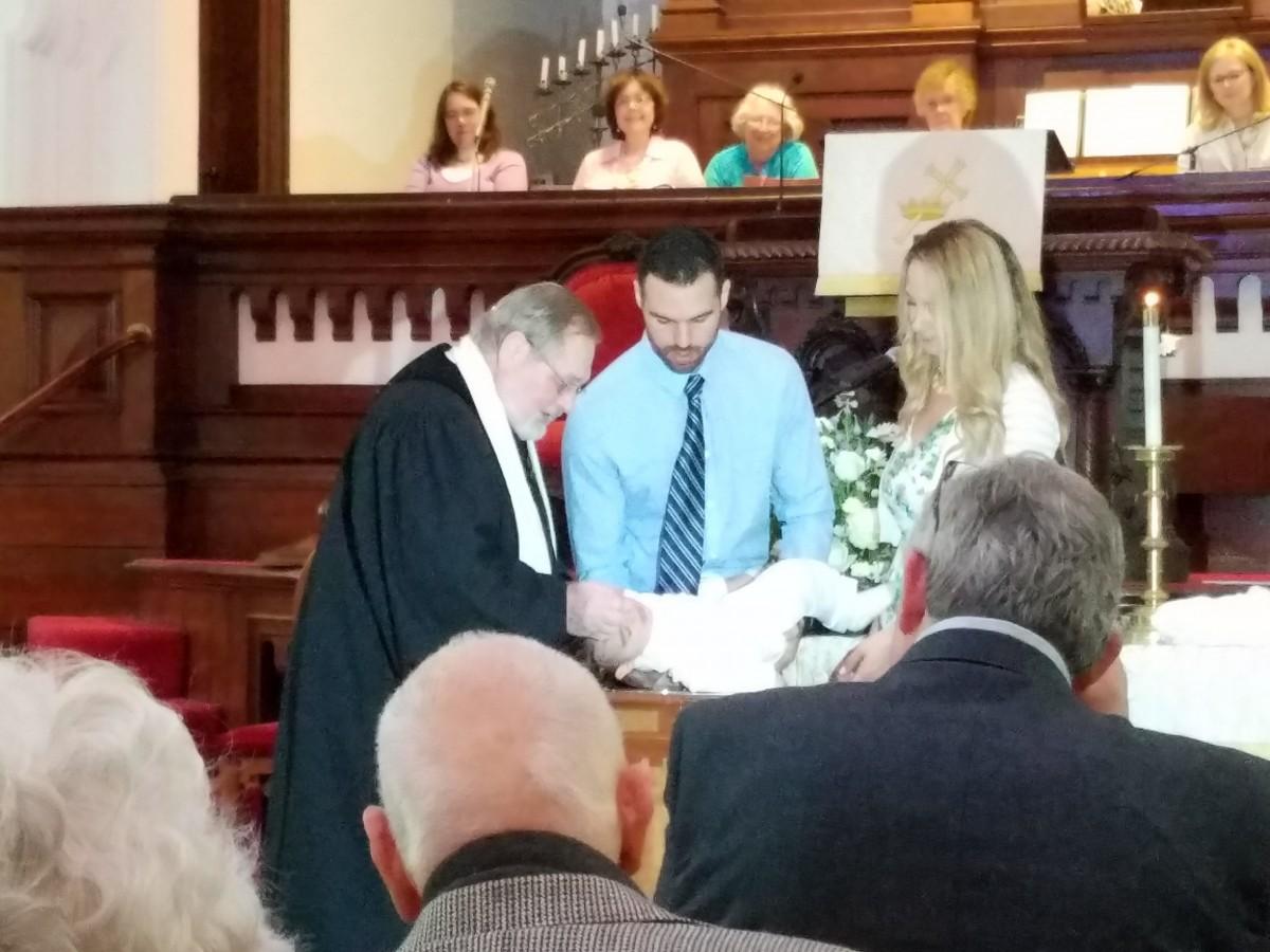 Gavin Kelloway Baptism May 13th