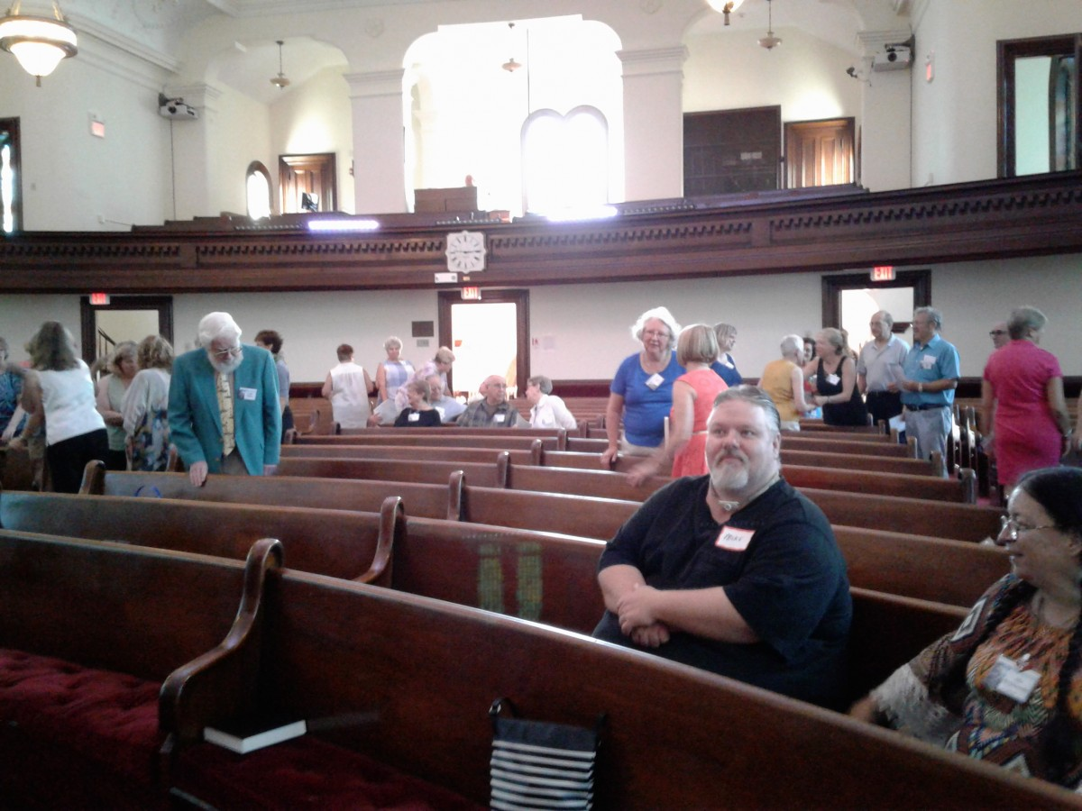 Candidating Sunday, August 5, 2018
