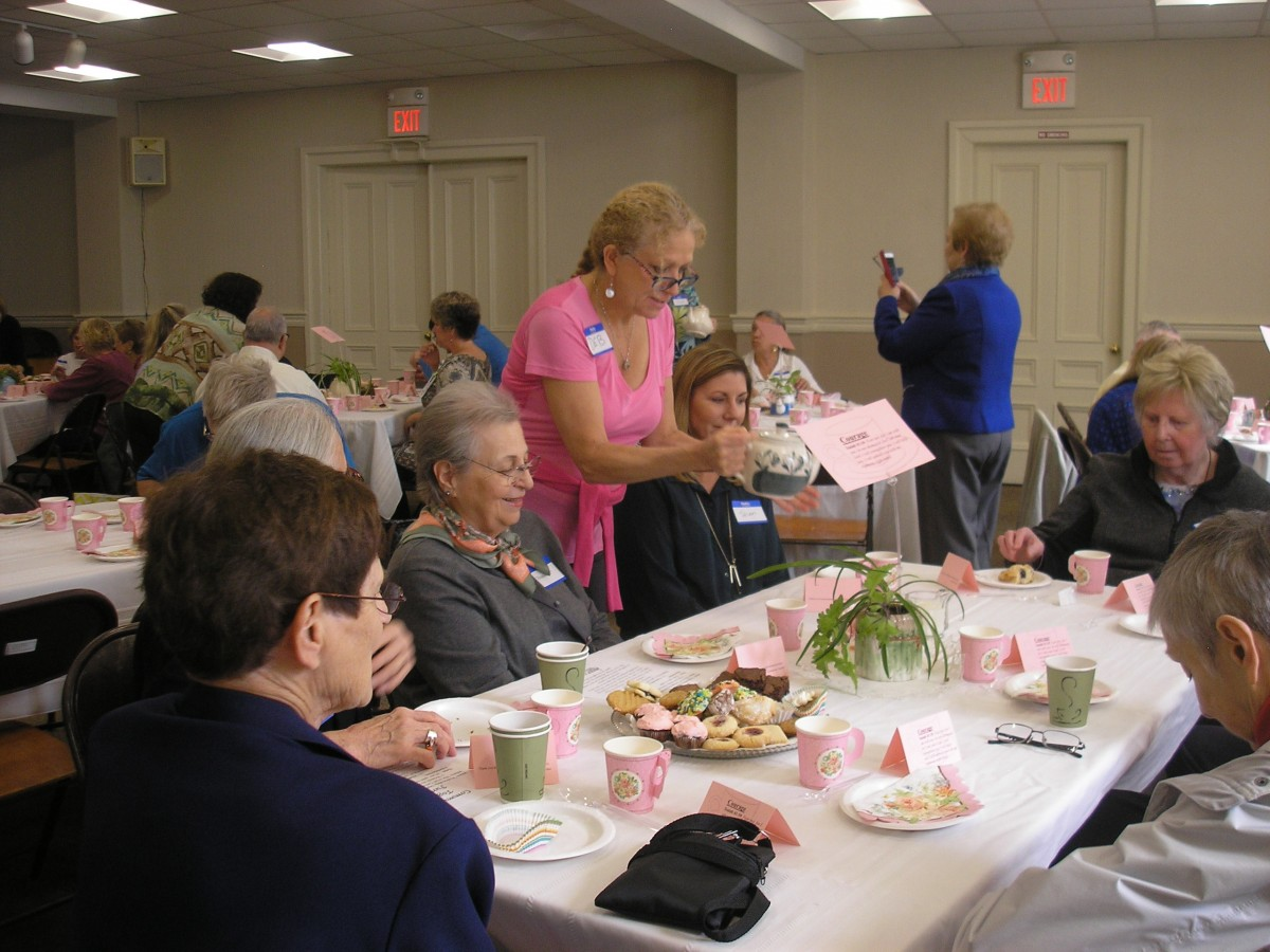 2019 Communities Together Prayer Shawl Tea