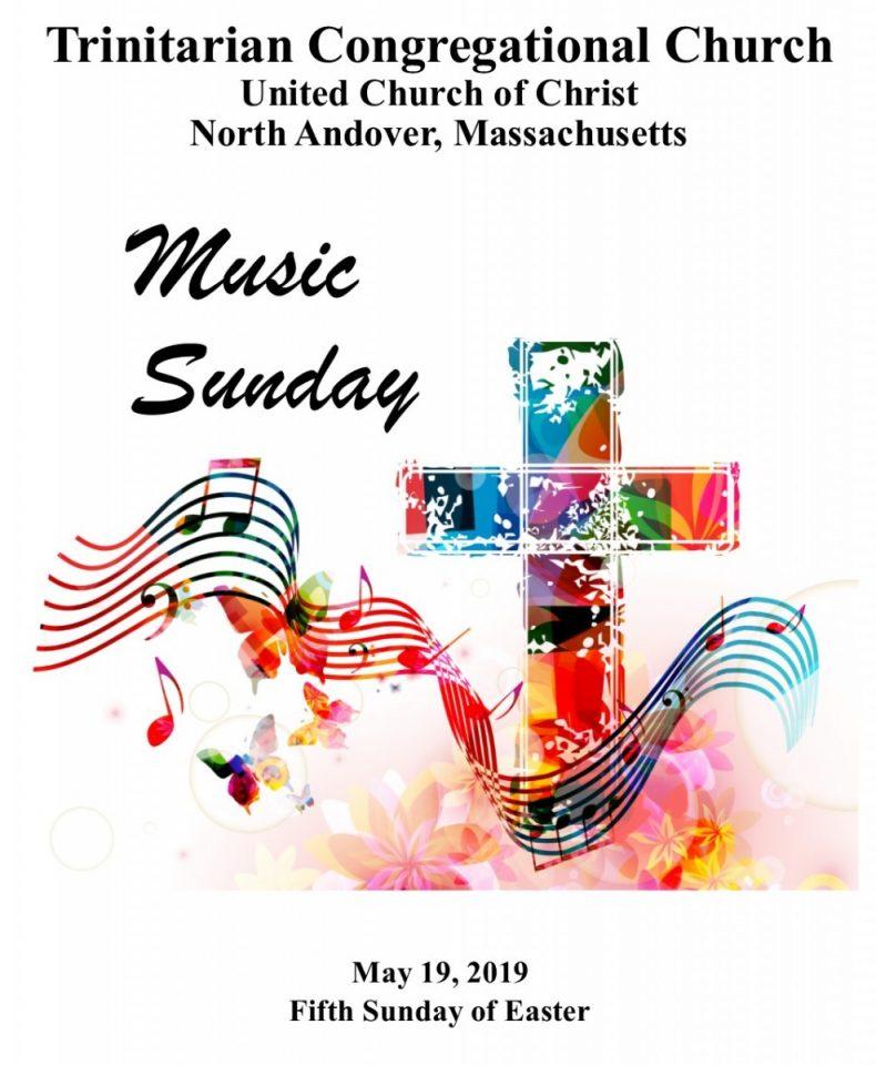 Music Sunday, May 19th, 2019